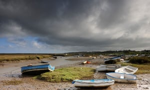 Boats at Morston Quay, Norfolk