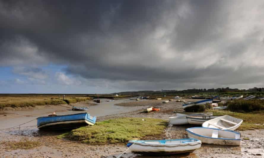 Boats at Morston Quay, Norfolk
