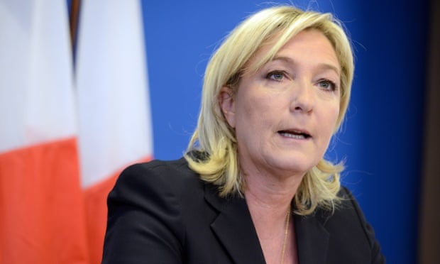 The Putin regime is bankrolling France's National Front, led by Marine Le Pen.