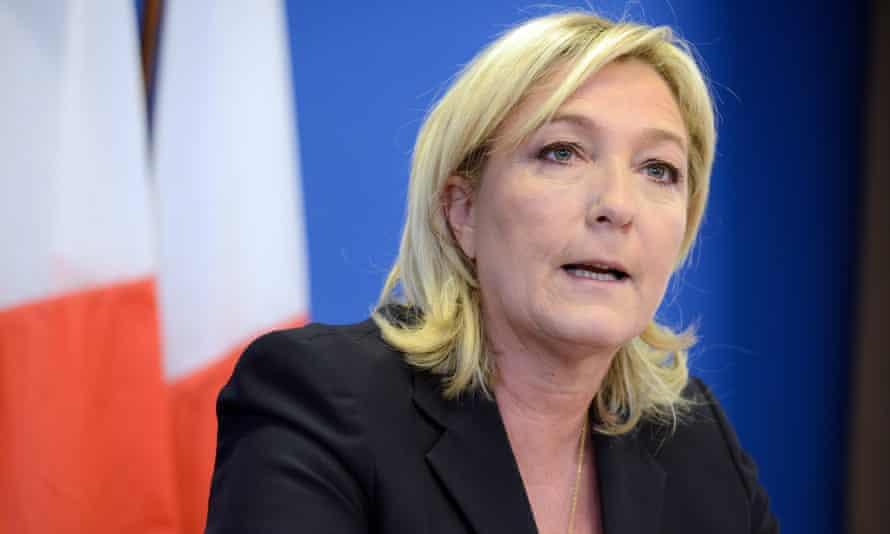 The Putin regime is bankrolling France's National Front, led by Marine Le Pen.