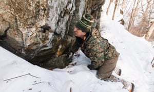 Pavel Fomenko searches for signs of Siberian tigers in Russia's far east.