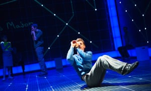Luke Treadaway as Christopher in The Curious Incident Of The Dog In The Night-Time