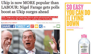 Daily Express website: Ipso said the story was 'significantly distorted'