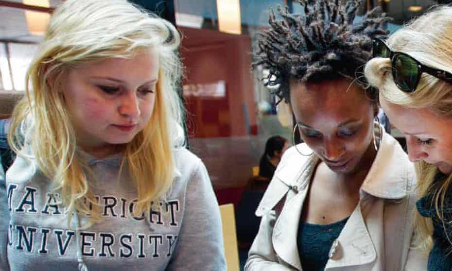 Students at Maastricht University.