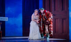 Sophie Bevan as Pamina and Jacques Imbrailo as Papageno.
