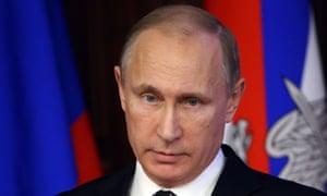 Russia's president, Vladimir Putin.