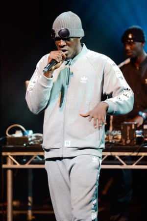 Stormzy on Later with Jools Holland.