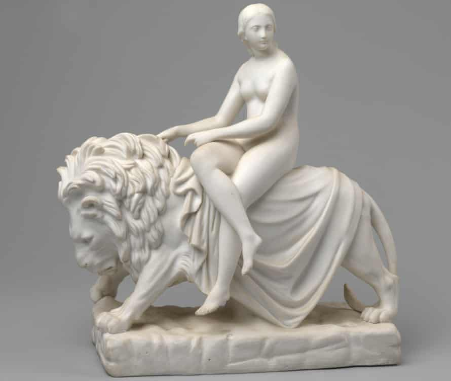 Una and the Lion by John Bell.