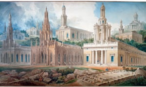 Whatever style you please … Soane's designs for Holy Trinity Church, Marylebone, in variously Norman, Gothic and neoclassical manners.