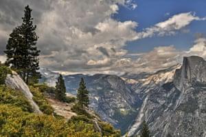 Bridalveil Creek and Equestrian and Group Camp Yosemite National Park, California