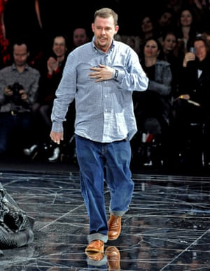 'A fearless autdidact and impresario': Alexander McQueen at Paris Fashion Week 2009: