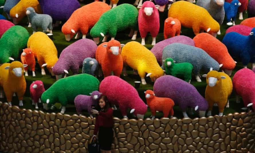 Chinese New Year sheep