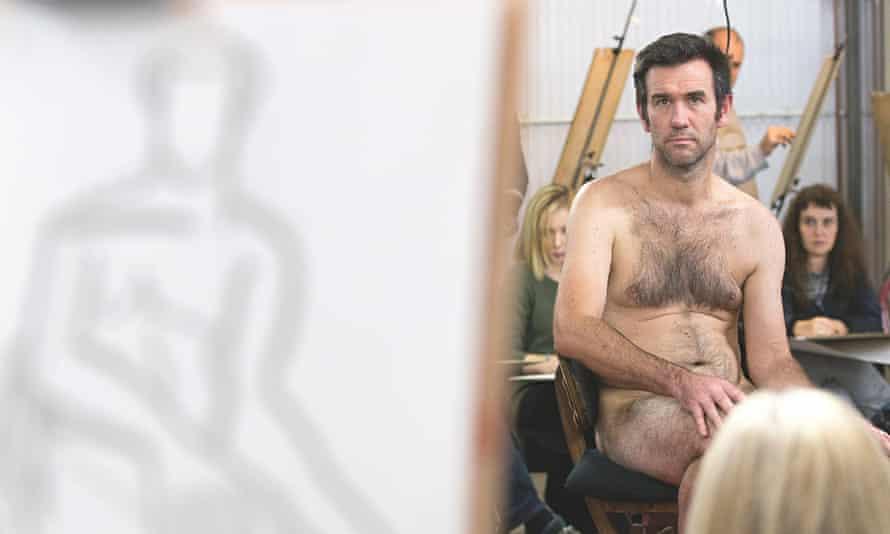 Nick McGrath life models at a London Drawing class