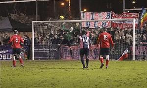 Dulwich Hamlet v Stonewall FC