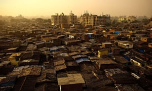 One million people live and work in Dharavi, which occupies just under one square mile.