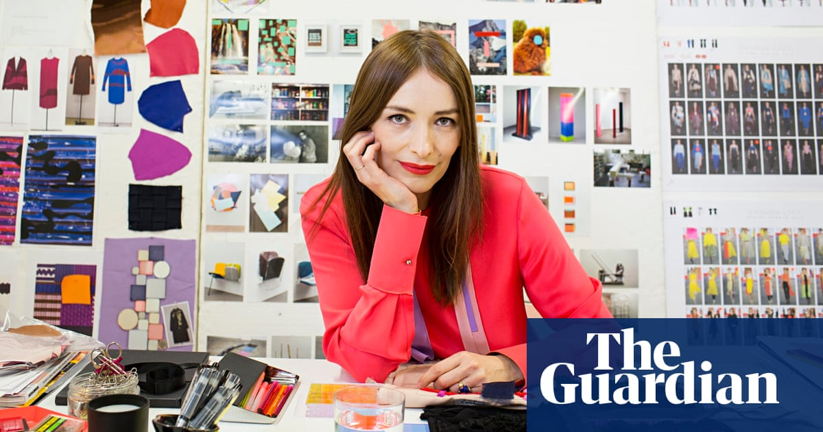 How I Work Fashion Designer Roksanda Ilincic Life And Style The Guardian