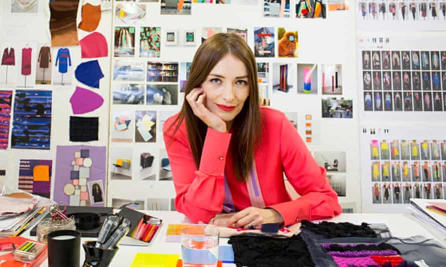 Roksanda Ilincic in her London design studio.