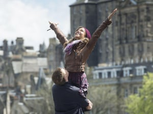 Antonia Thomas in the Bafta-nominated Sunshine On Leith.