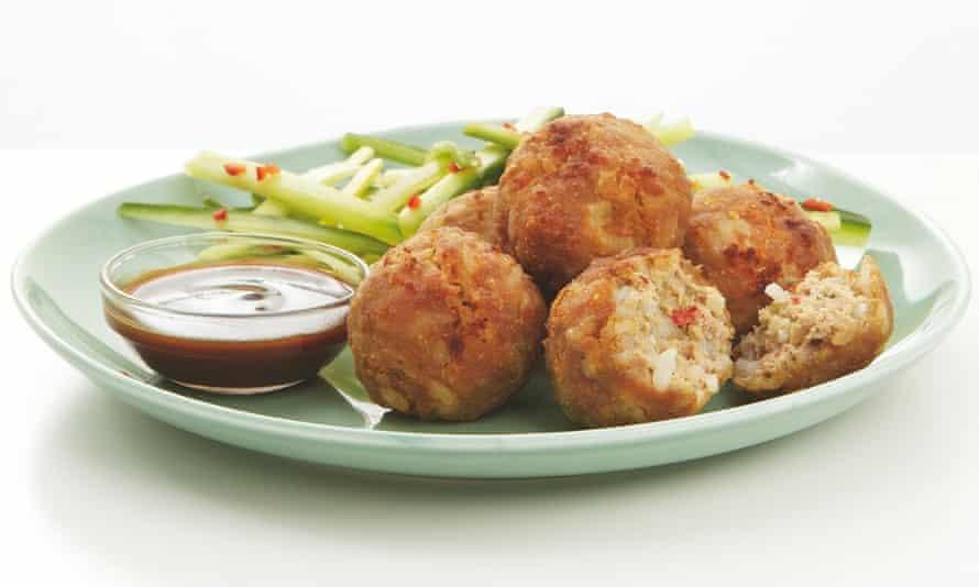Thomasina Miers' Thai fragrant pork patties