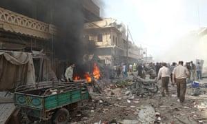 Barrel bomb aleppo province