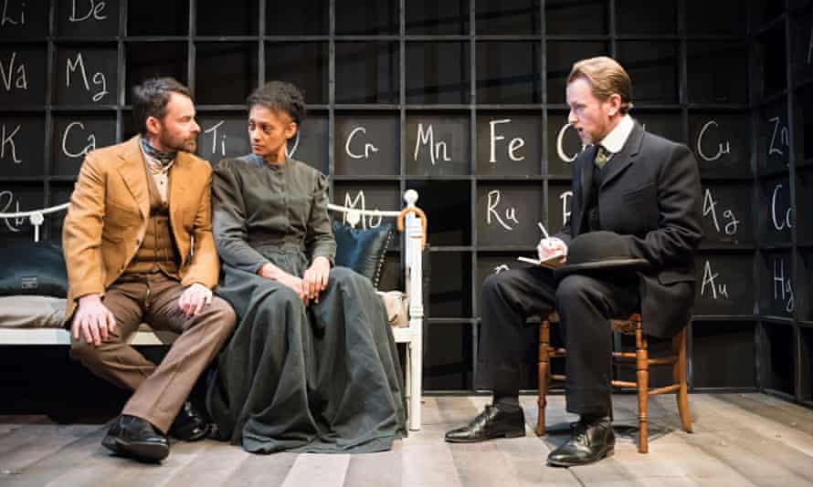 'Radiance: The Passion of Marie Curie' play at the Tabard Theatre, London, Britain - 03 Feb 2015