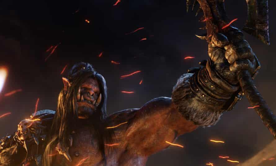 A still from World of Warcraft: Warlords of Draenor