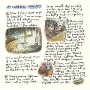 Steven Appleby's earliest memory