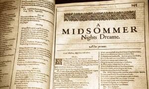 William Shakespeare, A Midsummer Night's Dream.