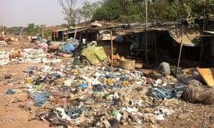 Dhaka waste dump