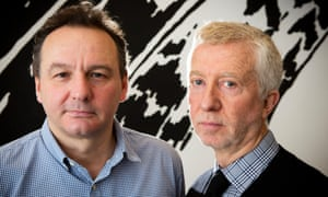 Jon Thoday and Jimmy Mulville: bidding to buy the BBC3 channel