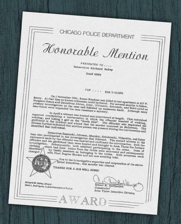 Police brutality commendation