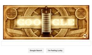 Google Doodle Volta