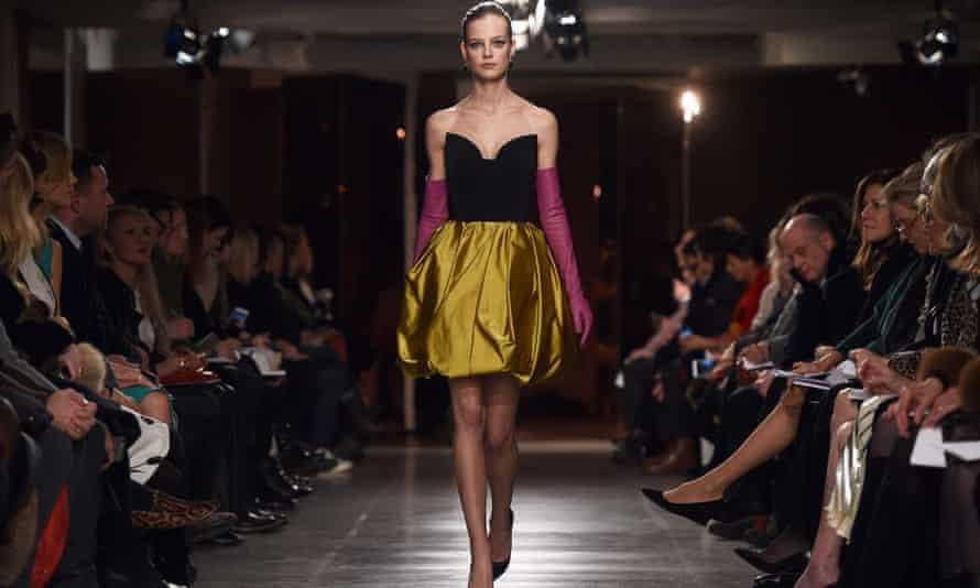 Oscar de la Renta New York fashion week show