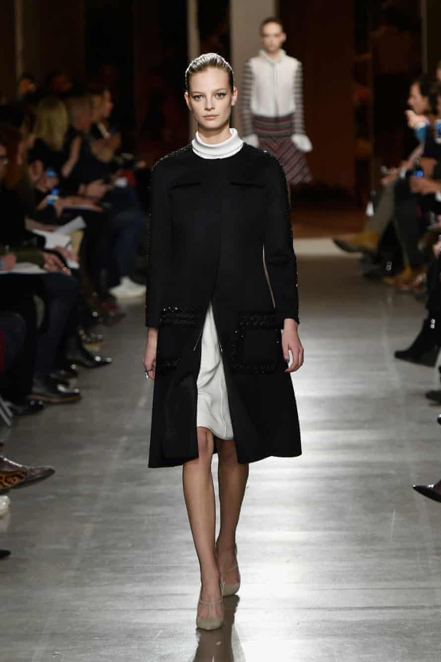 Oscar de la Renta New York fashion week autumn/winter 2015 collection