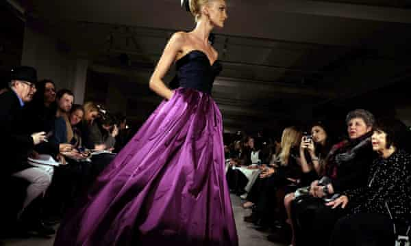 Oscar de la Renta New York fashion week 2015