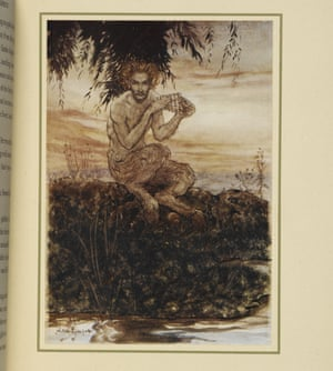 The god Pan Wind in the Willows illustrated by Arthur Rackham 1940