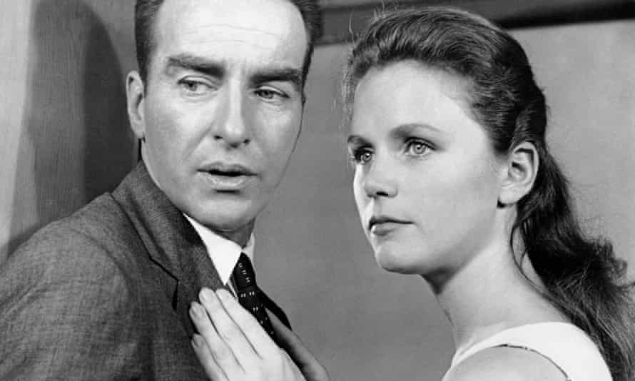 Still from the film Wild River with Montgomery Clift and Lee Remick