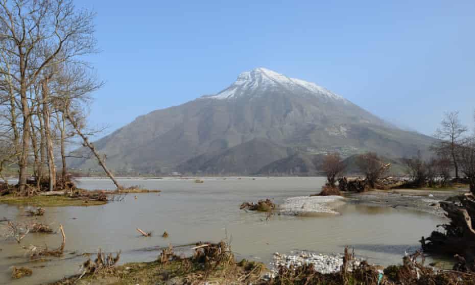 Vjosa river, Albania