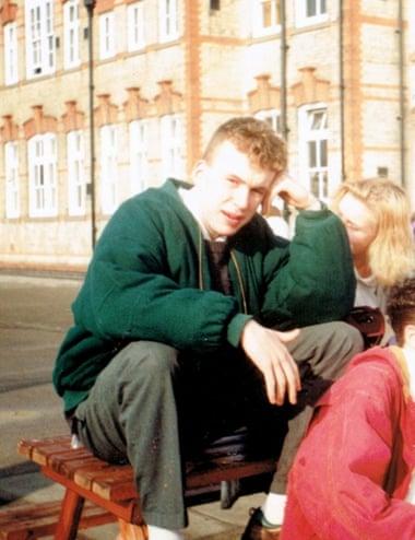 Haig during his school days in Newark, 1992.