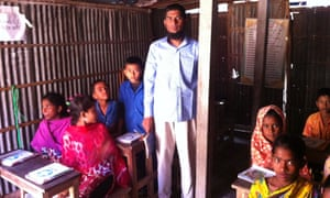 Dhaka waste picker school