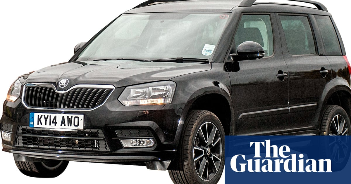 On The Road Skoda Yeti Black Edition Car Review Technology