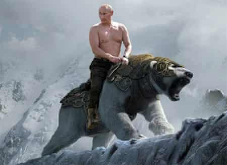 The Golden Putin.