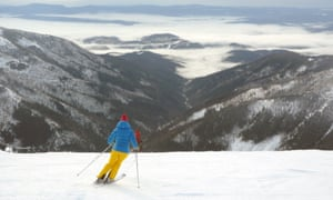 Jasna has pistes up to about 2,000 metres.