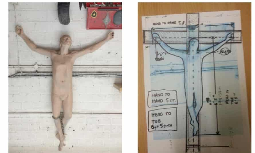 Sketches of Pete Doherty sculpture