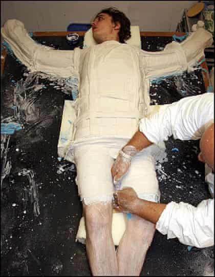 Pete Doherty in a cast
