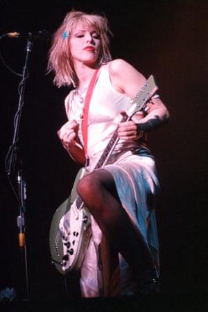 Courtney Love of Hole.