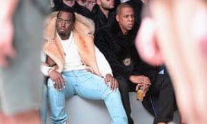 """Money on their minds ... Sean """"Diddy"""" Combs and Jay Z"""