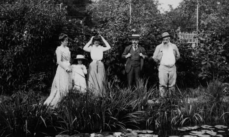 Monet's house In Giverny, 1900