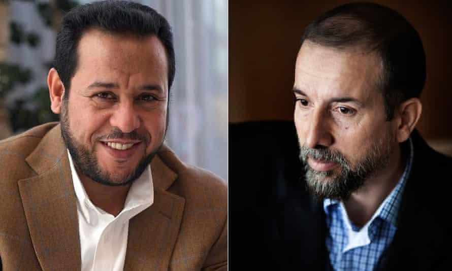 Abdul Hakim Belhaj and Sami al Saadi