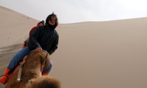 John Fusco on the Silk Road, this time on a camel